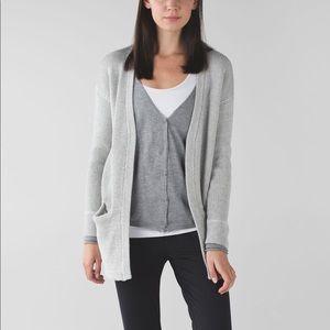 Lululemon Vestigan Cardigan in grey
